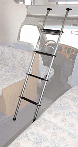 Top Line (BL200-06) Escalera para litera con gancho de 167,6 cm y apertura de 3,8 cm