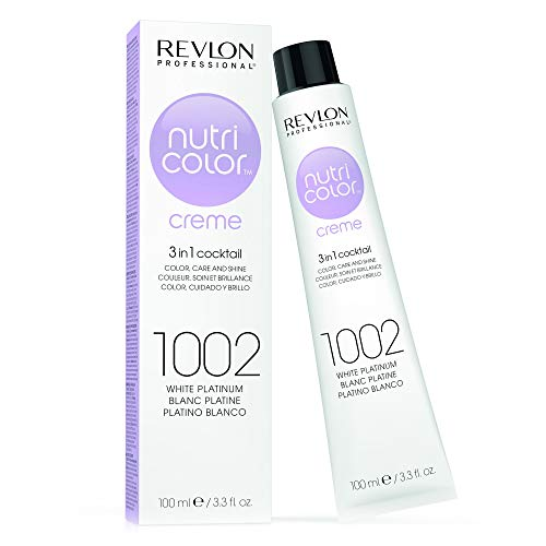 REVLON PROFESSIONAL Nutri Colour Creme1002 White Platinum 100 ml,...