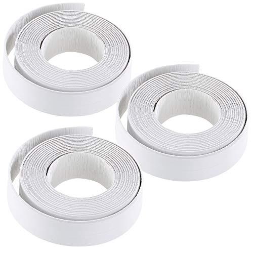 AGT Fugendichtband: 3er-Set Fugen-Dichtungsbänder für Badezimmer, Küche, Fenster und Türen (Fugenband)