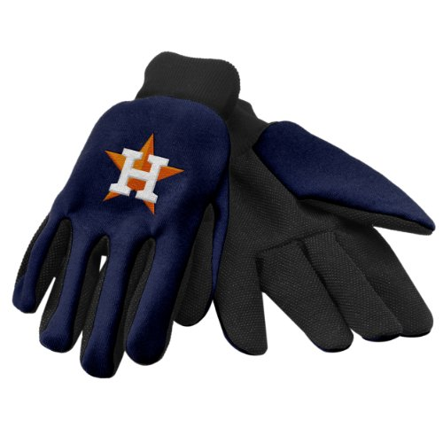 Forever Collectibles MLB 2011 Arbeit Handschuh, Jungen, GLVWKMB11HA, Houston Astros