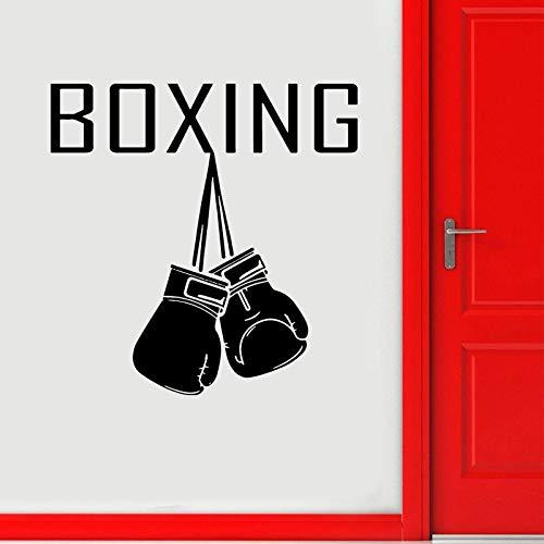 Guantes de boxeo Logo Calcomanía de pared Calcomanía depor