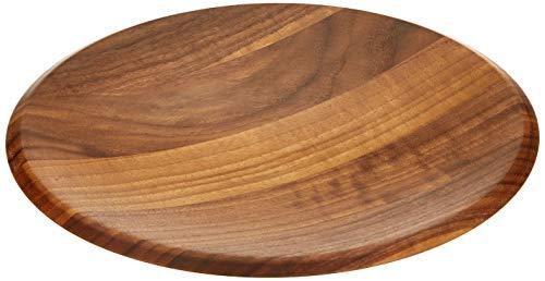 Continenta Walnut Wood Schale 4231Walnuss Holz, Dunkelbraun