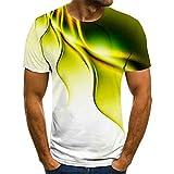 BLOMDE Tshirt Homme Impression Numérique 3D Série Science-Fiction...