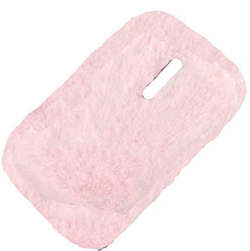 MeiZu M5C/A5 Hülle, haarige flauschige Wolle, süße Villi Winter Warm Weich Neue Slim Cover, DANGE Künstlicher Lichtschutz Dünne Schale für Meizu M5C/A5 Pink