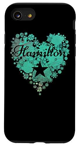 iPhone SE (2020) / 7 / 8 I Love Hamilton Heart Case