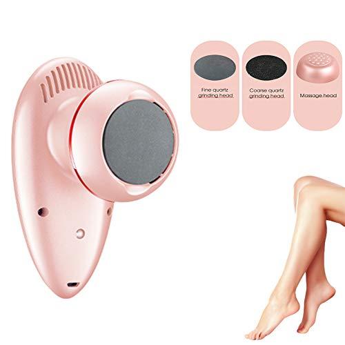 DSYYF Éliminateur de callosités électrique, Outil de Lime à Pied Professionnel à Vide Automatique avec tête de Massage, pour Les callosités de la Peau Dure et de la Peau Morte