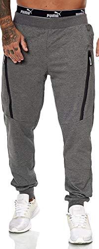 XRebel Kinder Junge Jogging Hose Jogger Streetwear Sporthose Modell W27 (Dunkel Grau, Gr.16(164~170))
