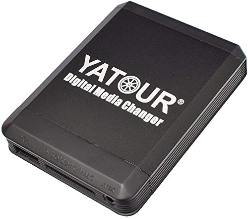Yatour YT-M07-VW12-BT Digitaler Musikadapter USB, SD kompatibel mit iPhone iPod iPad AUX Bluetooth VW, Audi, Seat, Skoda