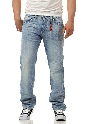 Timezone Herren Jeans 27-10048 Coast Regular heaven blue wash 33/34