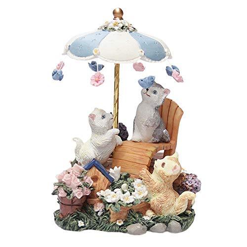 Banane Katze Spieluhr, süße Harz Kitty Spieluhr Weihnachten Bestes Geburtstagsgeschenk für Freundin Weihnachten/Geburtstag/Valentinstag vorteilhaft