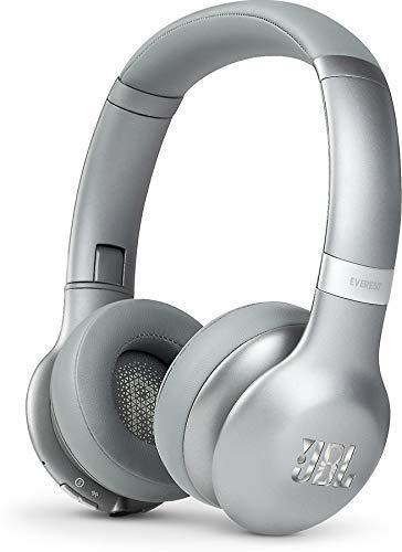 JBL Everest 310 Mobiles Headset Binaural Kopfband Grau Verkabelt & Kabellos - Mobile Headsets (Verkabelt & Kabellos, Kopfband, Binaural, Ohraufliegend, 10-22000 Hz, Grau)