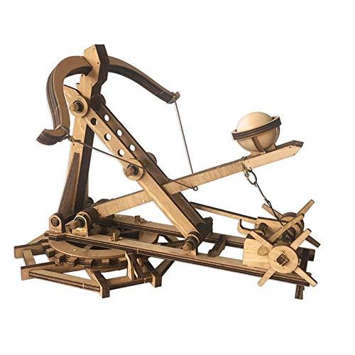 WTY Trebuchet, Modelo mecánico de Madera de Siege Vehículo, Montaje Manual DIY Bow y Flecha