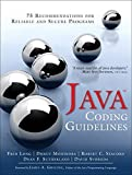 Java Coding Guidelines: 75 Recommendations for Reliable and Secure Programs: 75 Recommendations for Reliable and Secure Programs (SEI Series in Software Engineering)