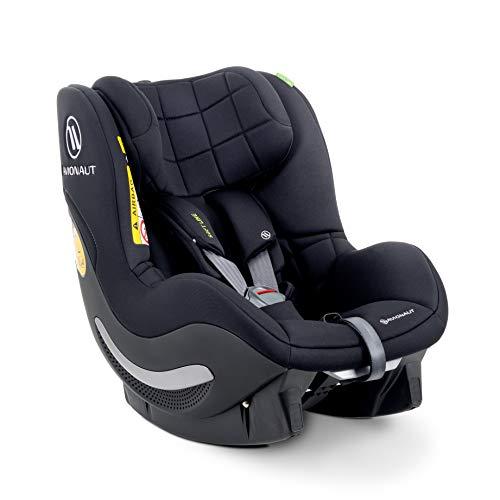 AeroFIX RWF Soft Line de Avionaut | Silla de coche reboard (orientada hacia atrás) | silla de coche grupo 1 (9kg-17.5kg, 67cm-105cm) | para niños pequeños de 6 meses a 4 años | Berlin Negro