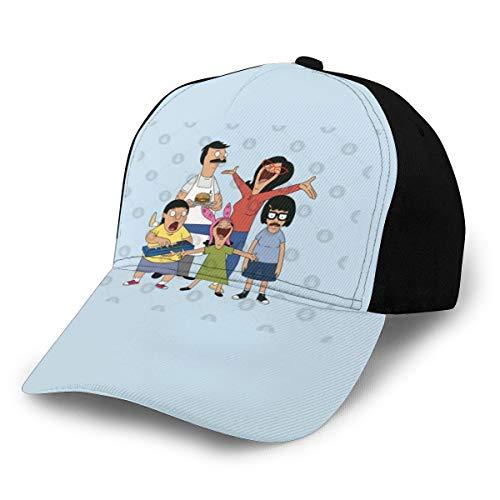 N/ Bob's Burgers 7 Cap Baseball Hat Classic Black