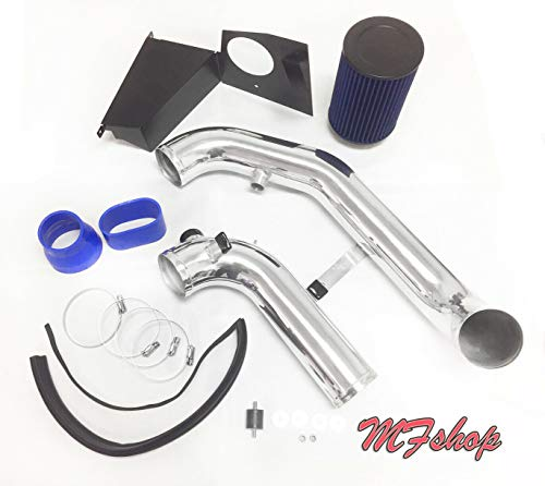 Qi Motorsports 2.5 2.75 3 3.25 3.5 4 63mm 70mm 76mm 83mm 89mm 101mm 45 Degree Bend Silicone Elbow with 2 T-Bolt Clamps 2.5 63mm, Blue