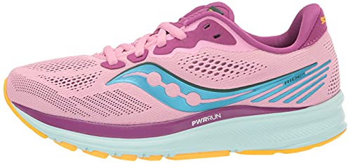 Saucony Ride 14 Women's Running Shoes - SS21-6 Pink