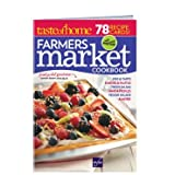 Taste of Home : Farmers Market Recipe Cards Magazine
