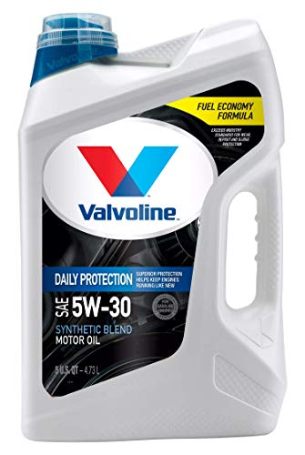 Valvoline Daily Protection SAE 5W30 Synthetic Blend Motor Oil 5 QT