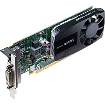 Nvidia Quadro K620 - Graphics Card - Quadro K620 - 2 Gb Ddr3 - Pcie 2.0 X16 Low Profile - Dvi Displayport  Product Type  Computer Components/Video Cards & Adapters   Renewed
