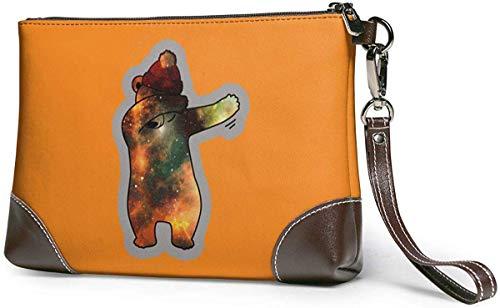 Unique Dabbing Dab Brieftasche aus Leder für Damen - kleine Telefonhandtasche