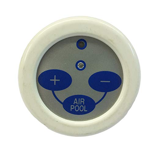 Generico Repuesto teclado unidad de control para bañera de hidromasaje blanco Titan Q326733