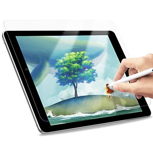 A-BEAUTY Paperfeel - Protector de pantalla para iPad 8 7 (10,2 pulgadas, modelo 2020 2019, 8ª y 7ª generación), dibujo y dibujo como en Paperfeel antideslumbrante con fácil instalación