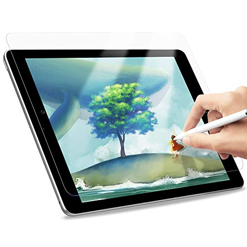 A-BEAUTY Paperfeel Screen Protector for iPad Air 3/iPad Pro 10.5 2017, 8th/7th Generation, Draw and Sketch Like on Paperfeel Anti-Glare with Easy Installation