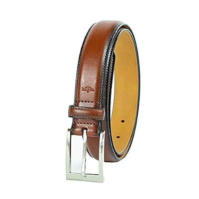 Dockers Men's 1.25 in. Wide Dress Casual Belt, tan, 40
