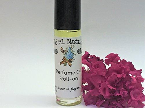 Black Currant Vanilla Type Perfume Roll On   Perfume Oil   Perfume   Natural   Handmade   1/3 fl oz
