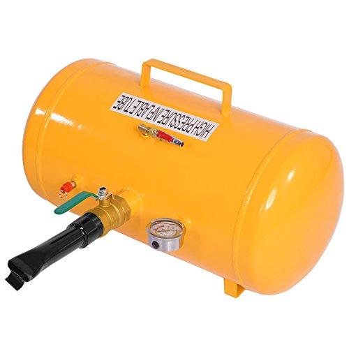 Bandenpompen, 10 gallon licht afdichtmiddel hogedrukreservoir, bandenreparatieset, opblaasbaar bandenwiel-banden, opblaasvacuüm gevuld
