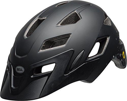 Bell Sidetrack Youth MIPS Cycling Helmet, Matt Black/Silver Fragments, Unisize 50-57 cm