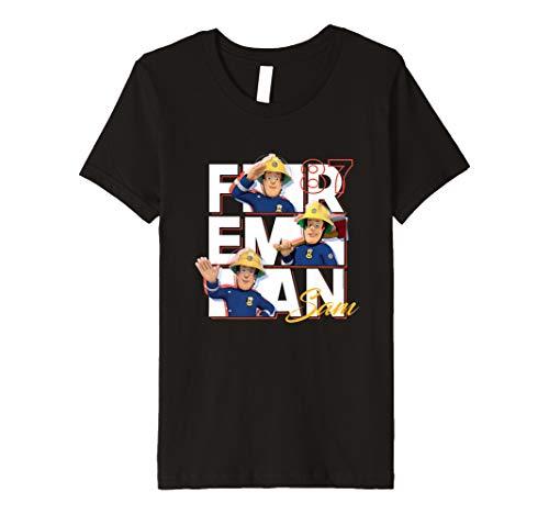 Kinder Feuerwehrmann Sam T-Shirt, Sam 87, viele Größen+Farben