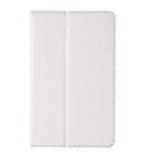 Für Tablet-Hülle Für Lenovo A8-50 A5500 Schutzhülle Folio PU Ledertasche Abdeckung Für Lenovo IdeaTab A8-50 A5500 8-Zoll-Tablet-Weiß