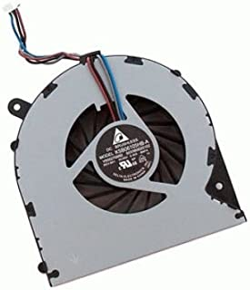 FixTek New CPU Cooling Fan Cooler for Toshiba Satellite L850 L850D L855 L855D C55 C55D L870 L870D L875 L875D C850 C855 C870 C870D C875 C875D P/N: V000270070, 4-Pins, DC5V 0.4A, 4 Pin connector