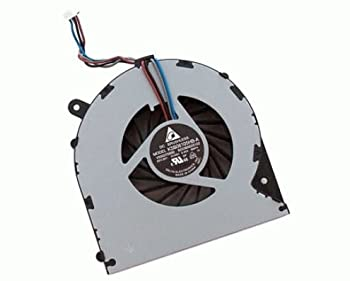 FixTek New CPU Cooling Fan Cooler for Toshiba Satellite L850 L850D L855 L855D C55 C55D L870 L870D L875 L875D C850 C855 C870 C870D C875 C875D P/N  V000270070 4-Pins DC5V 0.4A 4 Pin Connector