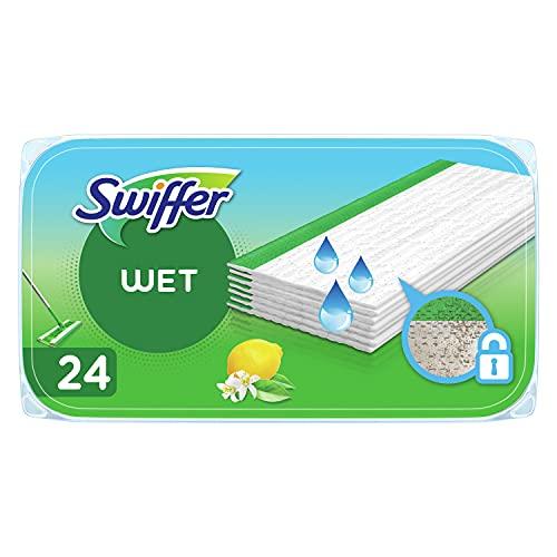 Preisvergleich Produktbild Swiffer Bodenwischer Feuchte Bodentücher (72 Tücher) Wischer ideal gegen Staub
