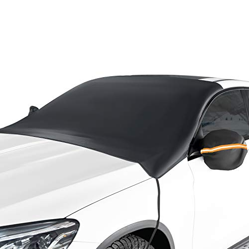2020 Upgraded Windshield Snow Cover, Car Window Cover Ice and Snow Cover for Car with 4 Strong Magnets Edge /& 4 Layer Material Protection, Large Size Suitable for Most Cars and SUV GLANDU