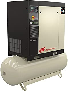 Ingersoll Rand Rotary Screw Compressor - 15 HP, 230 Volt/3-Phase, 53.9 CFM at 115 PSI, 80-Gallon Tank, Model Number 48670699