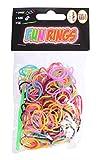 Tom loombandjes Fun Rings - Anillos (313 unidades), color verde