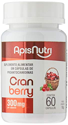 Cranberry 300mg (60 caps), Apisnutri