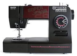 Toyota 26 Sewing Machine Super Jeans, Black