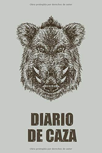 Diario de caza: Es un Cuaderno o libro de registro de caza - de 102 páginas y de 16 cm x 23 cm - 50 fichas a completar para llevar un registro de sus ......