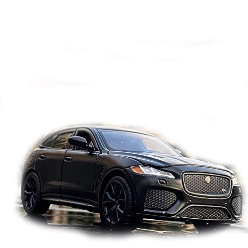 DXZJ 1:32 para Jaguar-F-Pace, Modelo De Coche De Juguete De Simulación Deportiva, Aleación, Juguetes para Niños, Regalo De Colección, Vehículo Todoterreno (Color : Black)