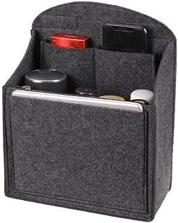 369 バックインバック リュック インナーバッグ 縦 A4 A5 B5 リュックインバッグ リュック中身整理 仕切りバッグ バックパック 縦型 大 中 小 中身の整理ポケット PC インナーバッグ フェルト