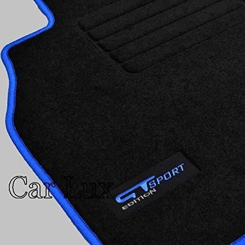 Car Lux AR00548 - Tappeti su misura Personalizzati Edition per Megane 3 III Coupe dal 2008-