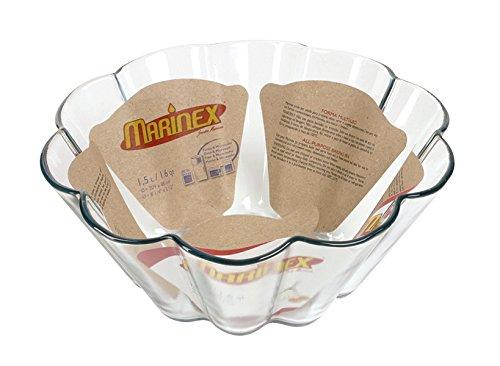 """Marinex Bakeware Glass Brioche Dish, 8-1/4"""" x 3-1/2"""""""