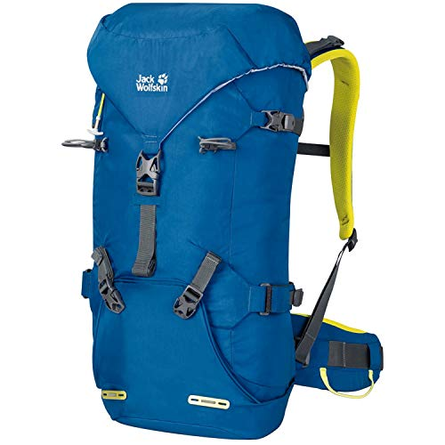 Jack Wolfskin Unisex's Mountaineer Backpack, Electric Blue, ONE SIZE