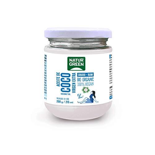 Aceite de Coco Ecológico NATURGREEN (200 g)