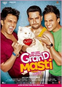Grand Masti DVD
